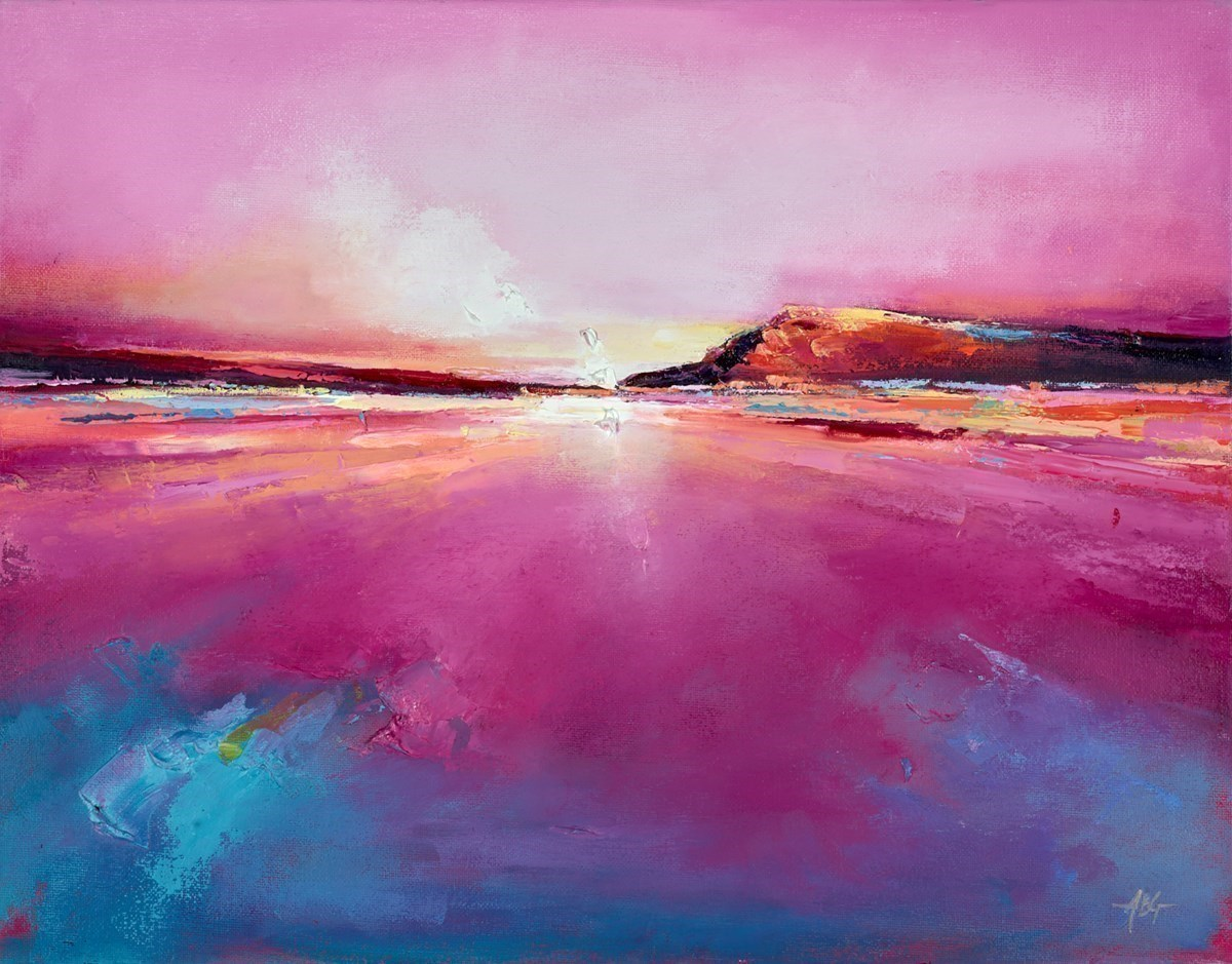 Sunset Shimmer I by Anna Gammans -  sized 18x14 inches. Available from Whitewall Galleries